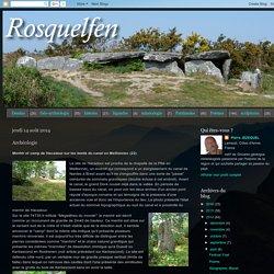 Rosquelfen: Archéologie