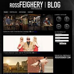 ROSS FEIGHERY PHOTOGRAPHY – BLOG