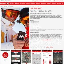 Ski Pursuit App Autres sites ROSSIGNOL : ski, snowboard, chaussures de ski, casque, masque, vêtements de ski