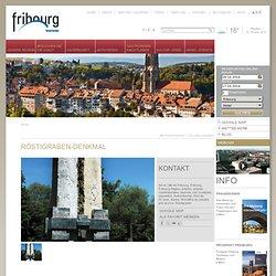 Röstigraben-Denkmal, Freiburg - Fribourg, KulturBrückenStadt - Schweiz