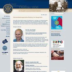 Rotary im Gespräch