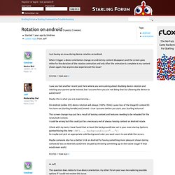 Rotation on android « Starling Forum