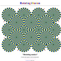 Rotational illusion