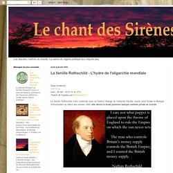 @ Le Chant des Sirènes : La famille Rothschild - L'hydre de l'oligarchie mondiale