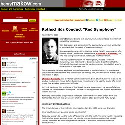 "Rothschilds Conduct ""Red Symphony"""