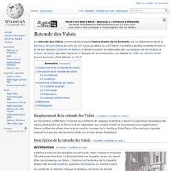 Rotonde des Valois