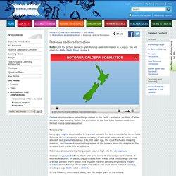 Rotorua caldera formation
