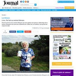 Les Rotours. Livre. Pef fait sa rentrée littéraire « Article « Journal de l'orne