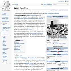 Rotterdam Blitz