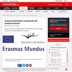 Erasmo de Rotterdam: la inspiración del programa Erasmus