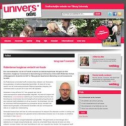 Univers: Rotterdamse hoogleraar verdacht van fraude