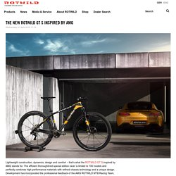 ROTWILD Bikes - THE NEW ROTWILD GT S INSPIRED BY AMG