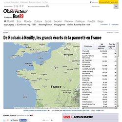 De Roubaix à Neuilly, les grands écarts de la pauvreté en France