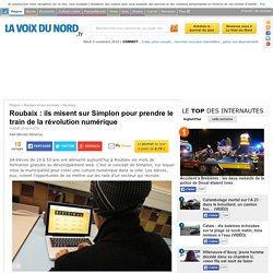 Roubaix : ils misent sur Simplon pour prendre le train de la révolution numérique