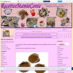 roudoudou, ou sucette au caramel beurre salé - RECETTES de MAMIECONTE