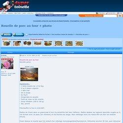 Rouelle de porc au four + photo