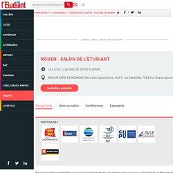 Salon de l'Etudiant de Rouen, du 10 au 11 janvier 2015