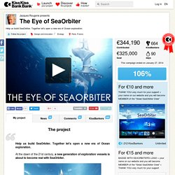 Jacques Rougerie presents The Eye of SeaOrbiter