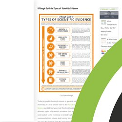 A Rough Guide to Types of Scientific Evidence