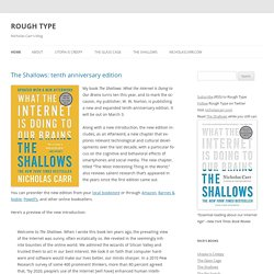 Rough Type: Nicholas Carr's Blog