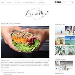 Rouleau de Chou Collard Cru · Lady & Mint Lady & Mint