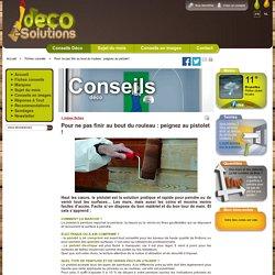 Pour ne pas finir au bout du rouleau : peignez au pistolet ! - Déco-solutions – www.deco-solutions.com