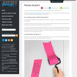 Rouleau de post-it