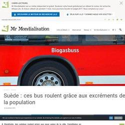 Suède : ces bus roulent grâce aux excréments de la population
