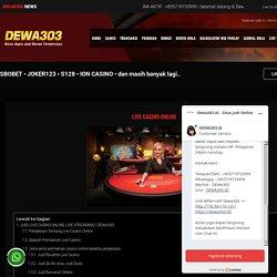 Live Casino Online - Roulette, Blackjack, Baccarat, Sic Bo