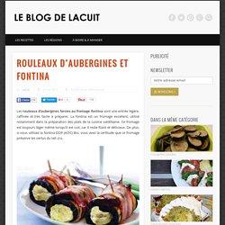 Rouleuax d'aubergines et fromage fontina - La recette italienne