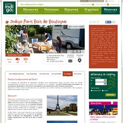 camping Paris, roulottes Paris, location cottage Paris, location emplacement camping Paris