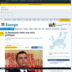 La Roumanie évite une crise politique
