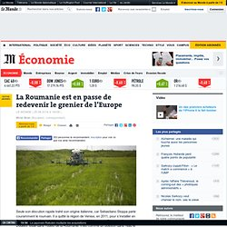 La Roumanie est en passe de redevenir le grenier de l'Europe