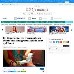 En Roumanie, les transports en communs sont gratuits pour ceux qui lisent