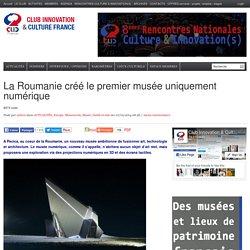 La Roumanie créé le premier musée uniquement numérique