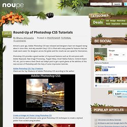 Round-Up of Photoshop CS5 Tutorials - noupe