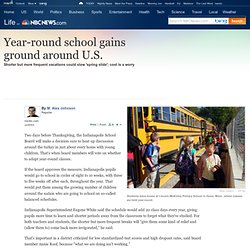 Year-round school gains ground around U.S. - US news - Life - NBCNews.com