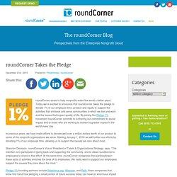 roundCorner Takes the Pledge