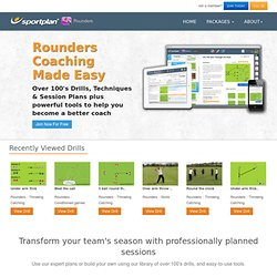 Rounders Coaching - 250+ Rounders Drills and Session Plans