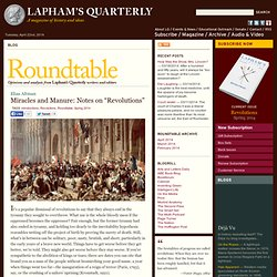 Roundtable - Lapham&#8217s Quarterly
