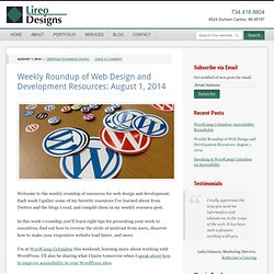 Weekly Roundup of Web Design and Development Resources: August 1, 2014