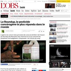Le Roundup, le pesticide cancérogène le plus répandu dans le monde