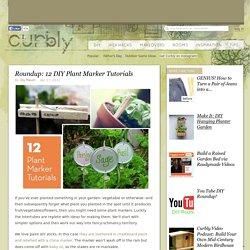Roundup: 12 DIY Plant Marker Tutorials » Curbly