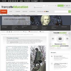 «C'est la faute à Rousseau» – Dossier Philosophie – Curiosphere