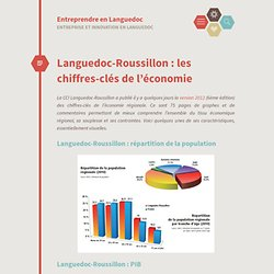 Languedoc-Roussillon : les chiffres-clés de l'économie « Entreprendre en Languedoc