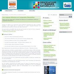 érosion Languedoc Roussillon - Observatoire des Risques Naturels en Languedoc Roussillon