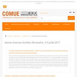 Assises Sciences-Sociétés - Languedoc-Roussillon Universités