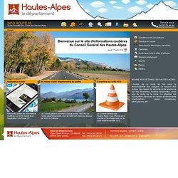 Infos Routes - Toute l'actualité des routes des Hautes-Alpes