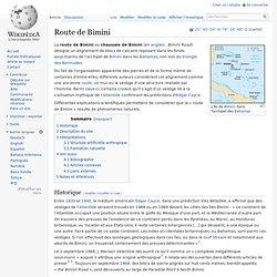 Route de Bimini