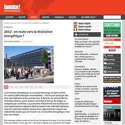 2012 : en route vers la révolution énergétique ? - Alternatives